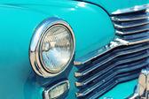 Retro autoscheinwerfer — Stockfoto