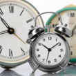 Classical alarm clocks — Stock Photo