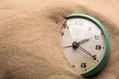 Sveglia in sabbia — Foto Stock
