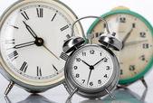классический часы тревоги — Стоковое фото