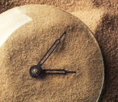 Sand clock — Stock Photo