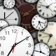 Clock faces — Stock Photo #27451611