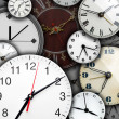 Stock Photo: Clock faces