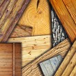 Stock Photo: Wooden textures