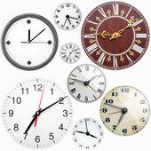 Clock faces — Stock Photo