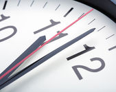 Clock hands — Стоковое фото