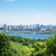 Skyline of Kiev, Ukraine — Stock Photo