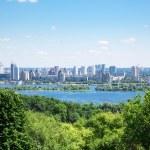 Skyline of Kiev, Ukraine — Stock Photo #28875257