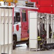 Interior of fire station — Stock Photo #28996421