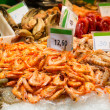 Assorted shrimps — Stock Photo