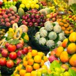 Stock Photo: Abundance of fruits