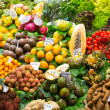 Abundance of fruits and vegetables — Foto de Stock