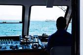 Barca volante — Foto Stock