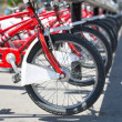 Stock Photo: City bicycles