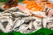 Assorted fish — Stock Photo
