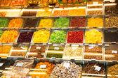 Suszone owoce i orzechy — Zdjęcie stockowe