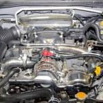 Sport car powerful motor — Stock Photo #3122159