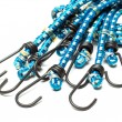 Blue elastic bungee cords — Stock Photo #32423685