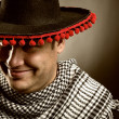 Cowboy mexican — Stock Photo