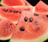 Fresh watermelon slices — Stock Photo