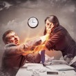 Stock Photo: High stress fight