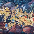 Traditional thai painting — Stock Photo