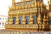 Architecture of Wat Po Temple — Stockfoto