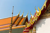 Wat Pho Temple Roof — Foto Stock