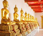 Buddha in Wat Po Temple — Photo