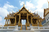 Edificio en wat phra chetupon — Foto de Stock