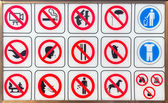 Signs — Stock Photo