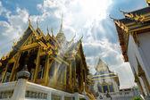 Architecture of Thai Wat Po — 图库照片