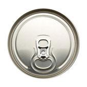 Top aluminum cans — Stock Photo