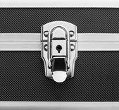 Metal briefcase — Stock Photo