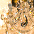 Vintage crystal lamp details — Stock Photo #49316577
