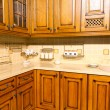 Beautiful custom kitchen interior design — ストック写真