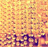 Ročník křišťálové lampy podrobnosti — Stock fotografie