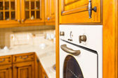 Beautiful custom kitchen interior design — Foto de Stock