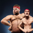 Funny body builders — Stock Photo #49568119