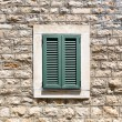 Old wooden window — Stock Photo #50796229