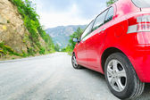 Car on  road — Stock Photo