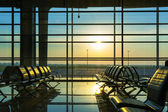 Hall of airport — Stock Photo