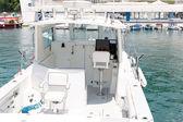 Malé bílé jachty — Stock fotografie