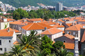 Tile roofs of old town — Stock Photo