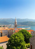 Old town in Budva — Stock Photo