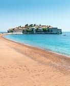 Nice sandy beach — Stok fotoğraf
