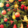 Christmas ornaments on a tree — Stock Photo #8681835