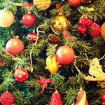 Christmas ornaments on a tree — Stock Photo #8681835