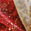 Cloth with Christmas patterns — Stock Photo