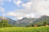 Village in montains — Stockfoto
